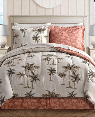 Fairfield Square Collection Palm Tree Reversible 6-Pc. Twin Bedding Ensemble Bedding