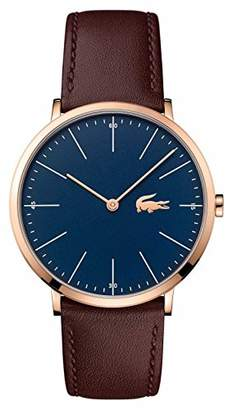 Lacoste Men's Quartz and Leather Watch