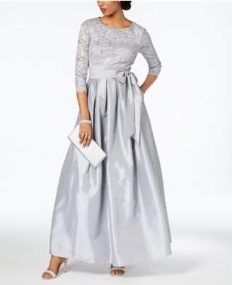 Jessica Howard Embellished Lace Gown