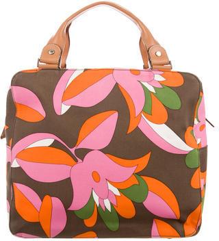 Kate SpadeKate Spade New York Leather-Trimmed Printed Bag