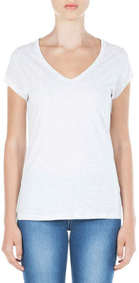 Skin and Threads Scoop Neck Tee