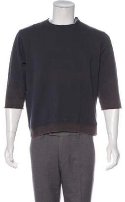 Robert Geller Short Sleeve Sweatshirt