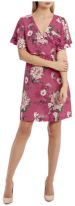 NEW Tokito Cross Over Dress - Large Bloom Floral Assorted