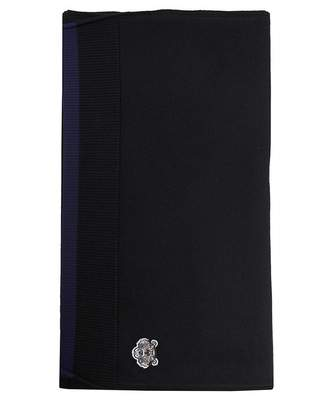 Kenzo Tiger Crest Scarf Colour: BLACK, Size: One Size