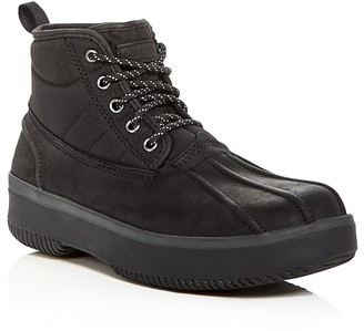 Barbour Mr. Duck Cold Weather Boots $170 thestylecure.com