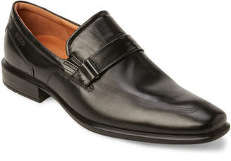Ecco Black Cairo Slip On Loafers
