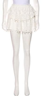 Saylor Lace Mini Skirt