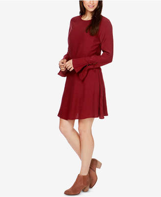 Lucky Brand Bell-Sleeve Peasant Dress