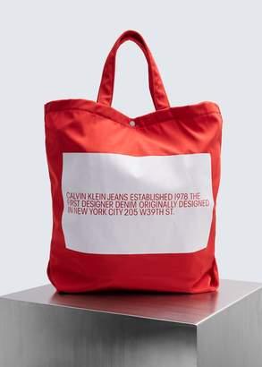 Calvin Klein Jeans EST. 1978 EST. 1978 Logo Small Tote