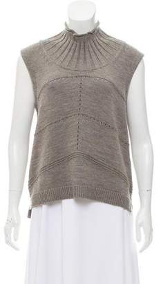 TSE Sleeveless Turtleneck Sweater