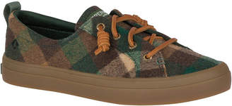 Sperry Women Crest Vibe Plaid Wool Sneakers Women Shoes