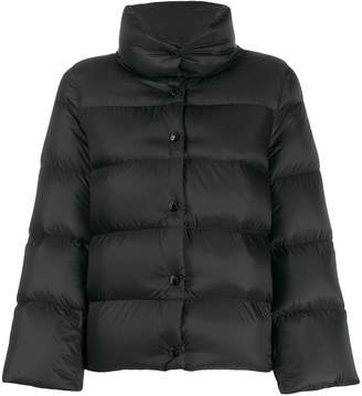 Moncler button-down puffer jacket