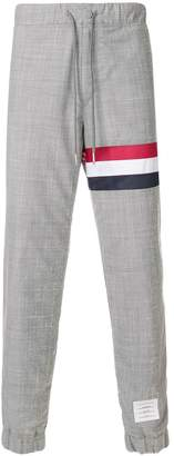 Thom Browne signature stripe lounge trousers