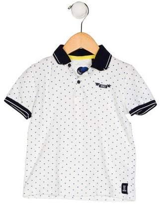 Ikks Boys' Collared Patterned Shirt