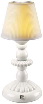 Lladro Lotus Firefly Porcelain Table Lamp