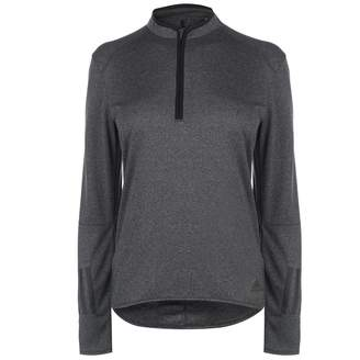 adidas Womens RSP LSzip T Long Sleeve Performance Shirt