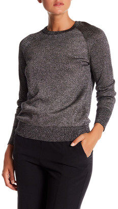 Equipment Sloan Crew Neck Wool Blend Sweater $258 thestylecure.com
