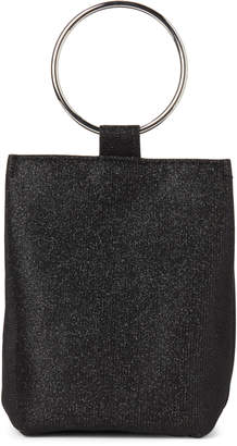 Jessica McClintock Black Sparkle Gwen Convertible Clutch