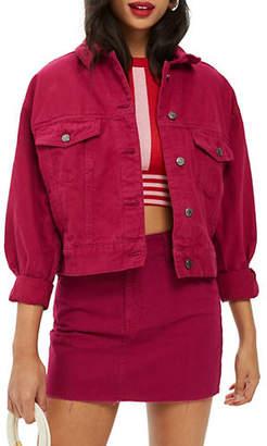 Topshop PETITE Boxy Denim Jacket