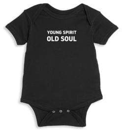 Knowlita Baby's Young Spirit Cotton Bodysuit