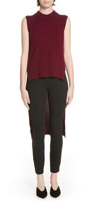 Rosetta Getty High/Low Wool & Cashmere Sweater