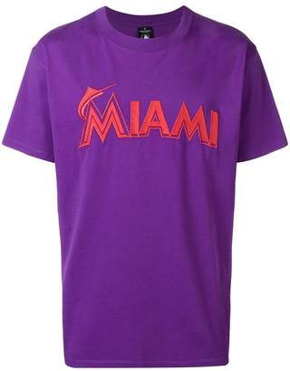 Marcelo Burlon County of Milan Miami Marlins T-shirt