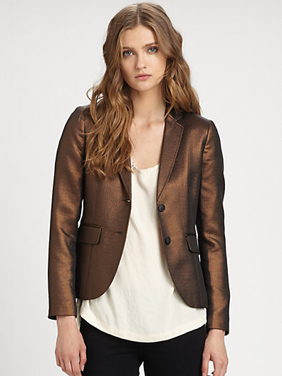 Rag and Bone Rag & Bone Metallic Bailey Jacket
