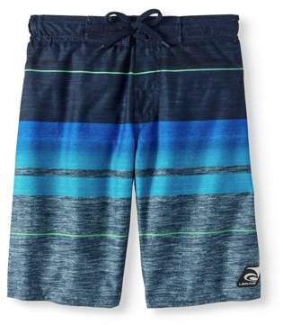 Trunks Laguna Boys' Gnarly Stripe Swim Trunk With Upf50 Sun Protection