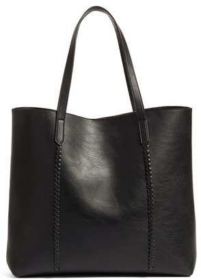 Phase 3 Faux Leather Tote - Black $75 thestylecure.com