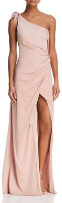 Style Stalker Stylestalker Jordana One-Shoulder Gown
