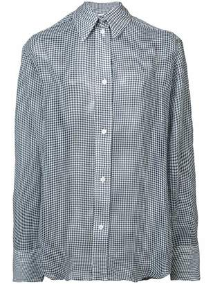 Nomia oversize button down shirt