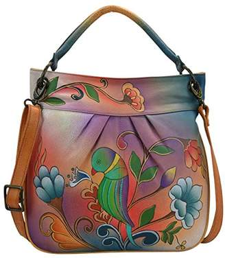 Anuschka Anna Handpainted Leather Large Convertible Tote