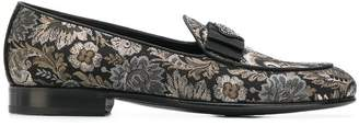 Dolce & Gabbana damask loafers