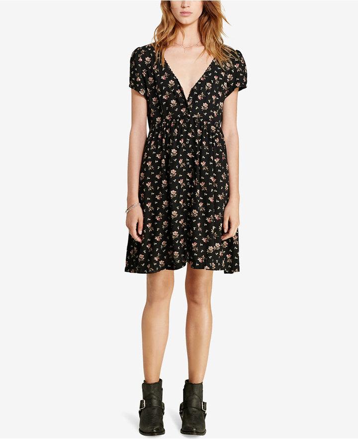 Denim & Supply Ralph Lauren Floral-Print Button-Front Dress 3