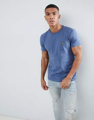 Lyle & Scott logo t-shirt in blue