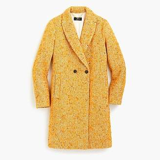 J.Crew Daphne topcoat in Italian tweed