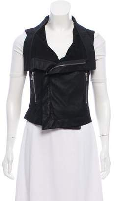 Veda Leather Vest