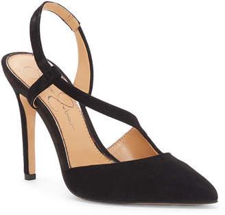 Jessica Simpson Paselle Pointy Toe Asymmetric Pumps Women Shoes