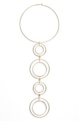 Women's Jenny Bird Boomerang Collar Necklace $175 thestylecure.com