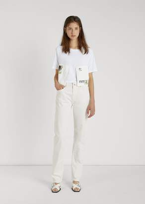 Aalto Straight Cut Jeans White
