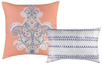 Baltic Linen Henna Decorative Pillows 2 pack
