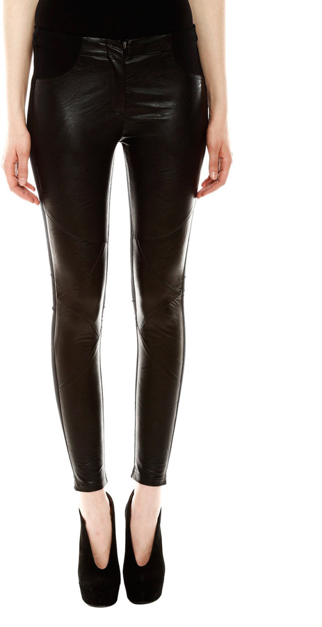 Royal Digs Faux Leather Leggings