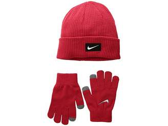 41a4b4351ce Nike Chrome Swoosh Beanie Gloves Set (Big Kids)