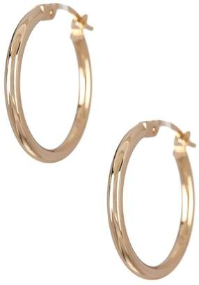 Candela 14K Yellow Gold Polished 20mm Hoop Earrings