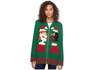Whoopi 2 Mrs Clauses Sweater