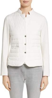 Fabiana Filippi Rodier Jersey Puffer Front Jacket