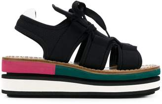 Marni wedge platform sandals