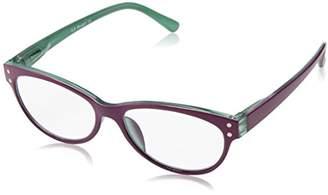 A. J. Morgan A.J. Morgan Women's Lala - Power 3.00 40102 Cateye Reading Glasses