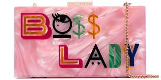 Sophia Webster Boss Lady clutch bag