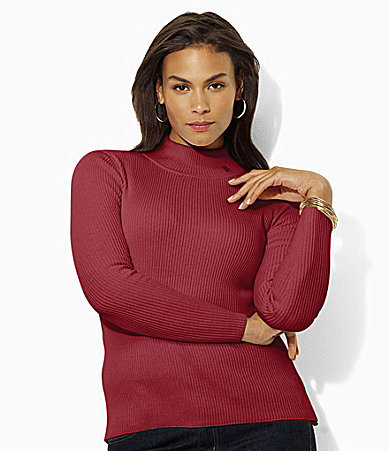 Lauren Ralph Lauren Woman Mockneck Sweater